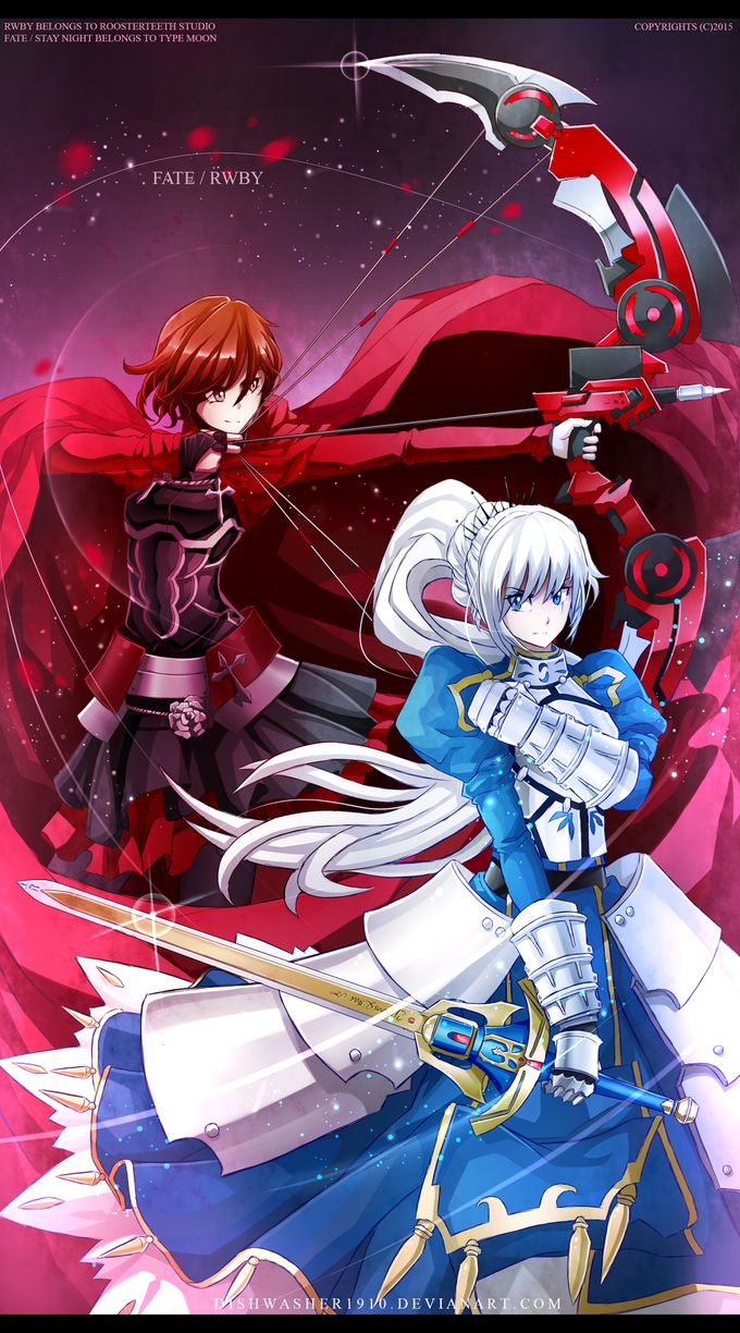 Some awesome Fate/Stay Night, RWBY crossover I'd say.