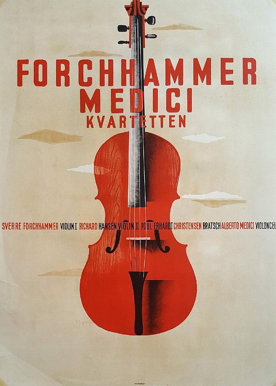 1950s Classical Concert feat Forchhammer Medici Quartet by