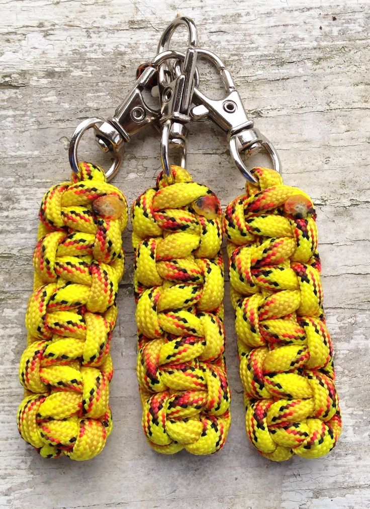 paracord zipper pull instructions