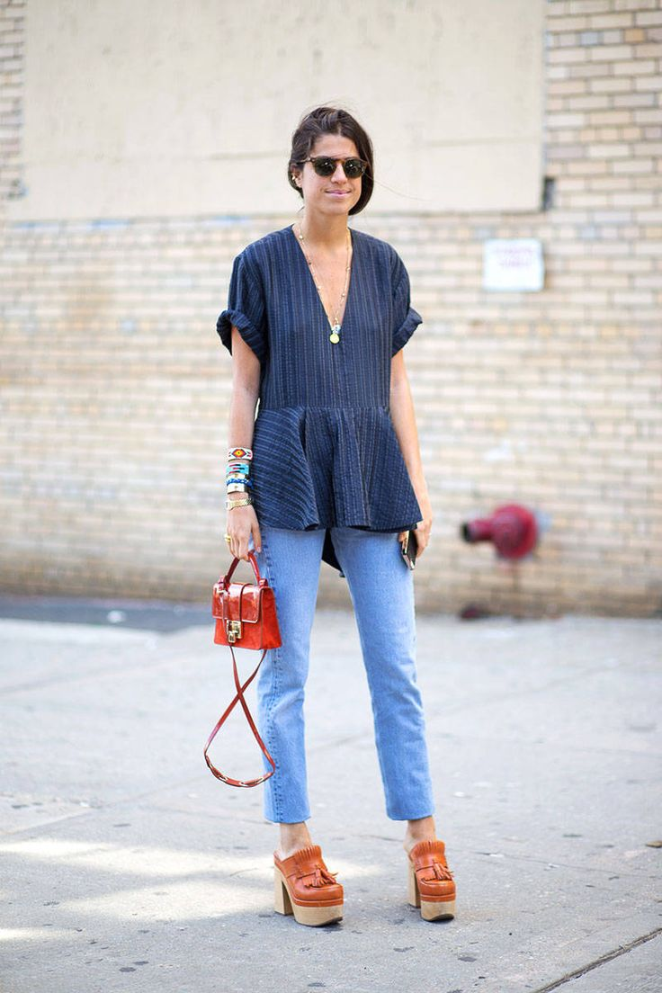 New York Fashion Week Spring 2015 | Street Style | Leandra Medine | Harper's Bazaar