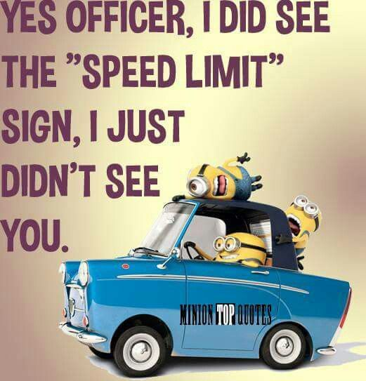 Yes, true statement, that's how I drove on highway in US and Canada? Paid fine, violated speed limit by 6 points many times.