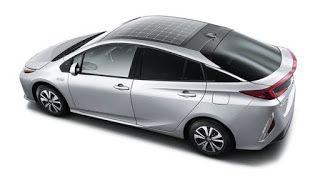 Modern Science: Panasonic develops solar car roof