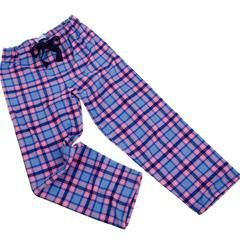 Brushed cotton heather check PJ bottoms