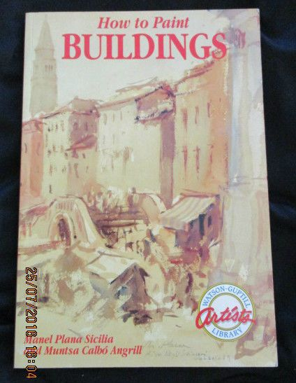 HOW TO PAINT BUILDINGS - BY Manel Plana Sicilia - PB - Pubished 1991 9780823024742 | eBay