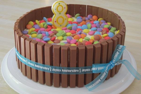 Le gâteau Kitkat