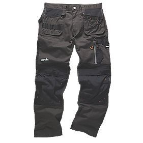 "Scruffs 3D Trade Trousers Graphite 36"" W 33"" L"