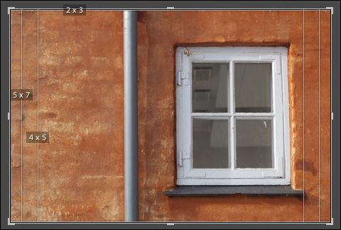 Displaying Aspect Ratios as Overlays in Lightroom 5