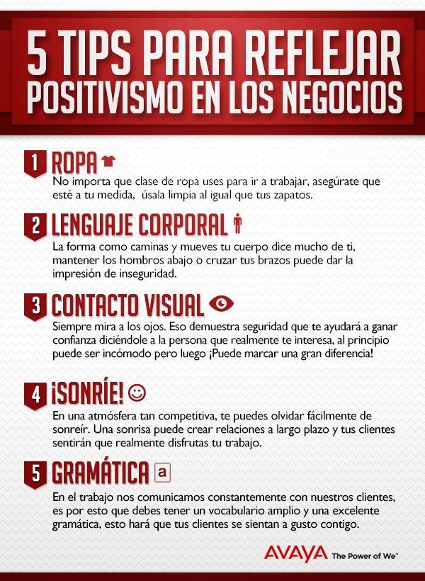 5 Tips para reflejar positivismo en los negocios #emprendedores #estudiantes #umayor