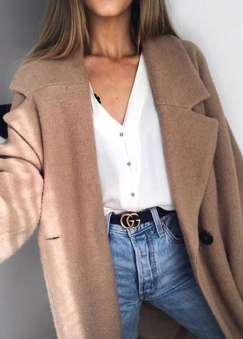 Awesome 20 ways to style your jeans this fall, #fashion #coiffer #your