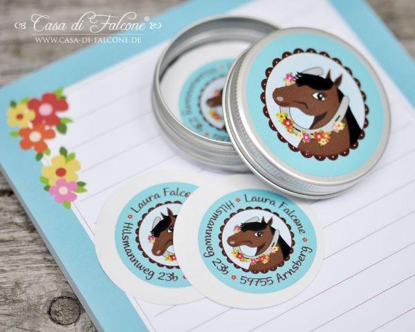 Schulanfang Starter-Set Pferd I personalized sticker I Casa di Falcone