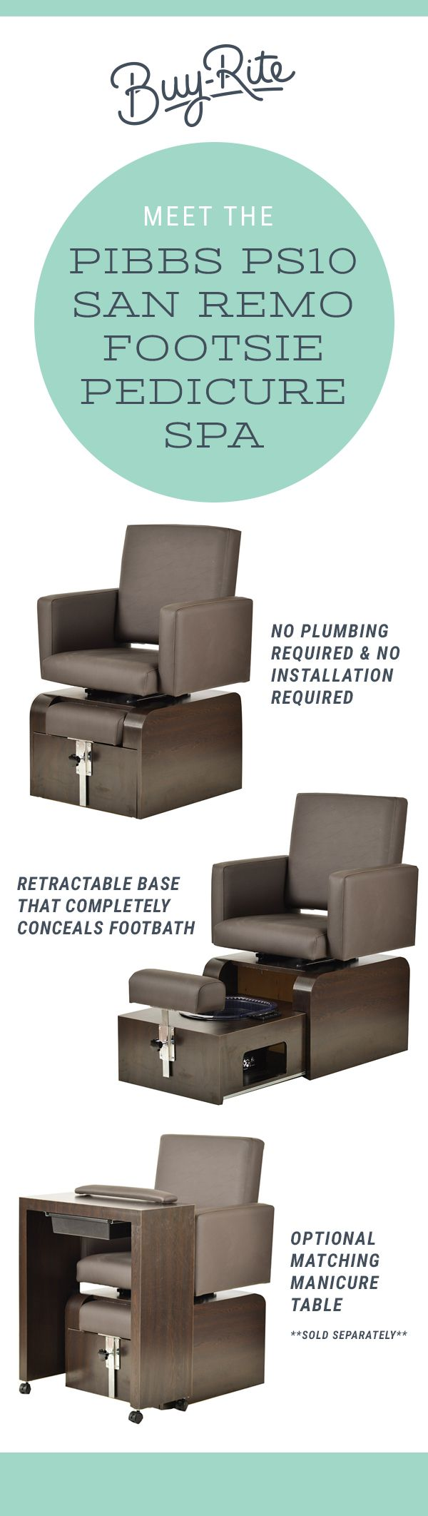 8 best buy rite spa products images on pinterest lounges for Buy rite salon