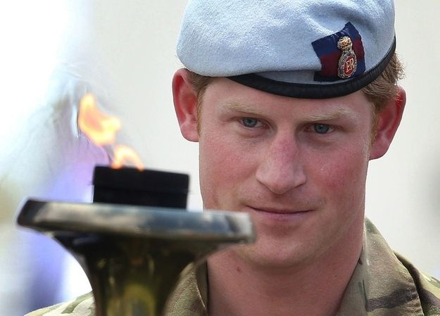 That time he lit a torch with his piercing blue eyes. | 21 Most Swoon-Worthy Moments Of Prince Harry's Visit To America