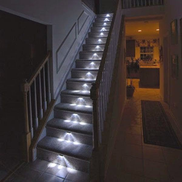 10 Stairway Lighting Ideas That Will Impress You With Images
