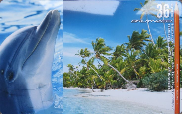 Bruynzeel 36 Dolfijn + Palmstrand