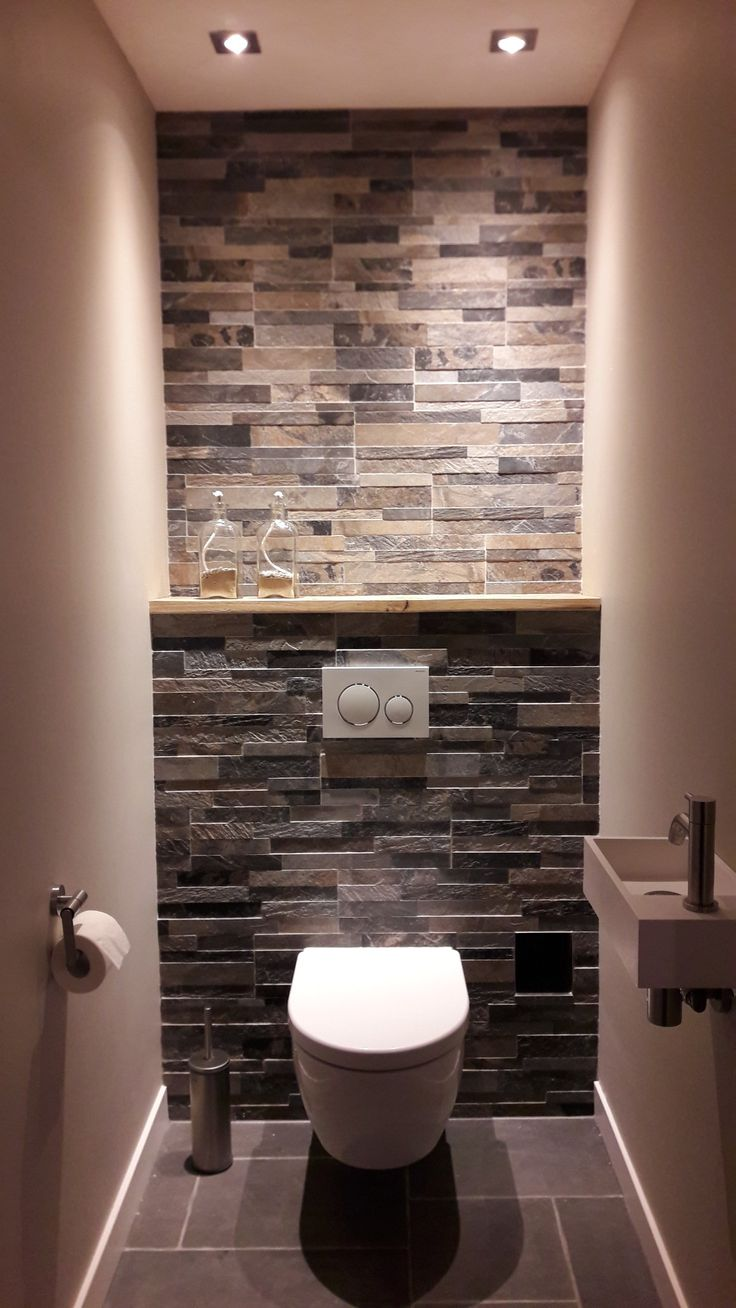 best 25 small toilet ideas on pinterest small toilet room toilet room and toilet ideas. Black Bedroom Furniture Sets. Home Design Ideas