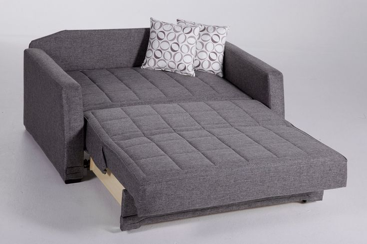 convertible sofa bed with color gray
