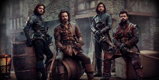 The Musketeers - Series III Promo [Half] [Med]