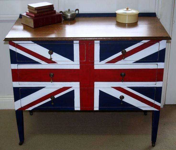 Lilyfield Life: Union Jack Dresser
