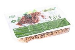 Vegetarisk farse, brukes istedenfor kjøttdeig. Finnes i velassorterte dagligvarebutikker/helsekost.