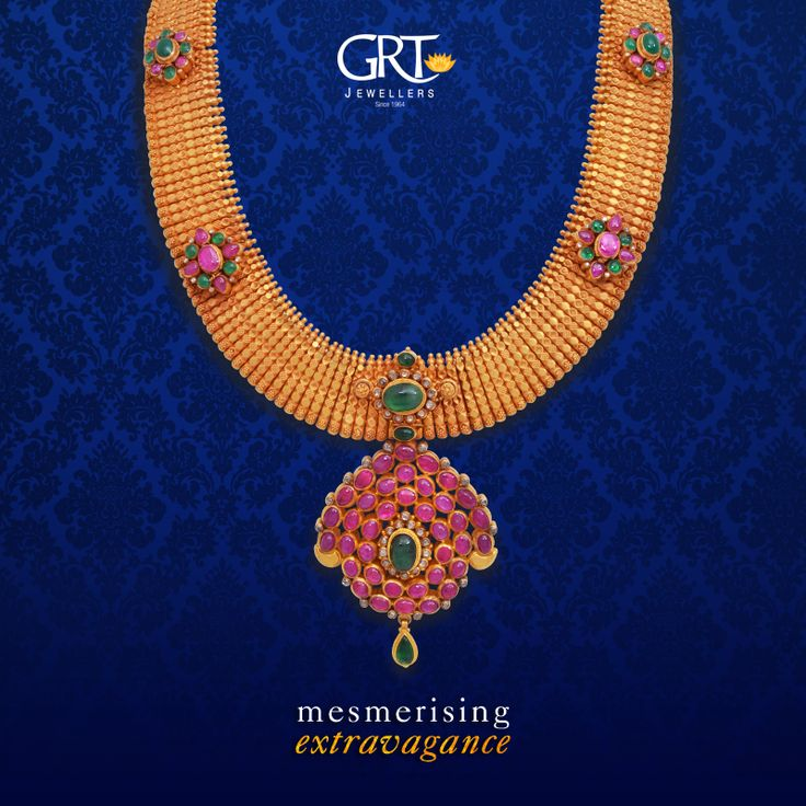 #Grandiose is too small a term to describe this #marvellous #necklace! Pair it with a classy #silk #saree and look like the stunning diva you've always been! - #mesmerising #extravagance - #Antique #Gold #Ethnic #Necklace #Jewellery #Vintage #Collection