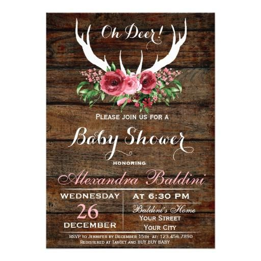 Oh deer baby shower invitation deer baby showers and shower adorewe zazzle personalized zazzle oh deer baby shower invitation adorewe filmwisefo
