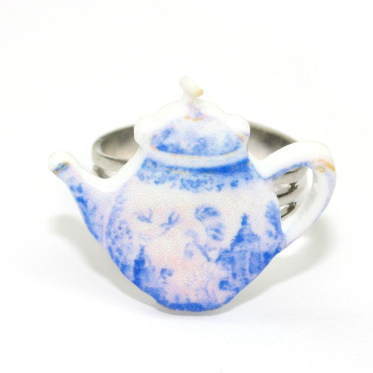 Afternoon Tea Pot Ring - Sour Cherry | Quirky & Kitsch Jewellery & Accessories