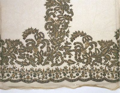 Victoria and Albert Museum Collection - Beetle Wing Embroidery