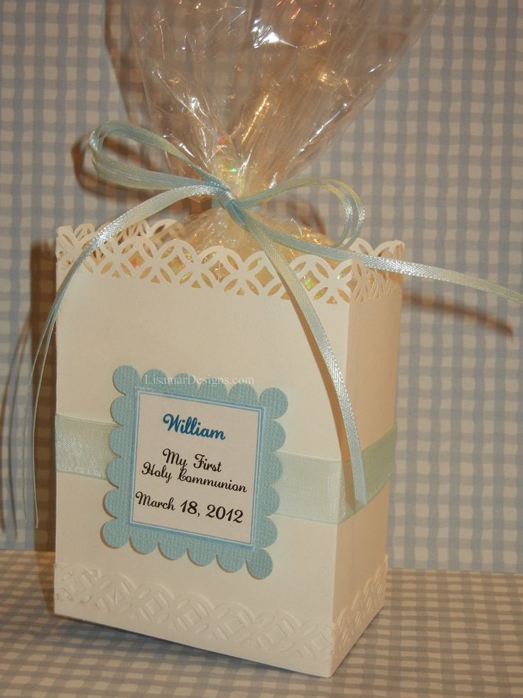 First Holy Communion Favor Bags