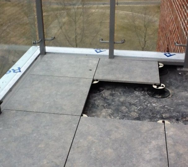 Flat Roof Detail