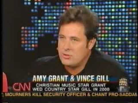 ♡♥Amy Grant with Vince Gill on the Larry King show - part 2♥♡