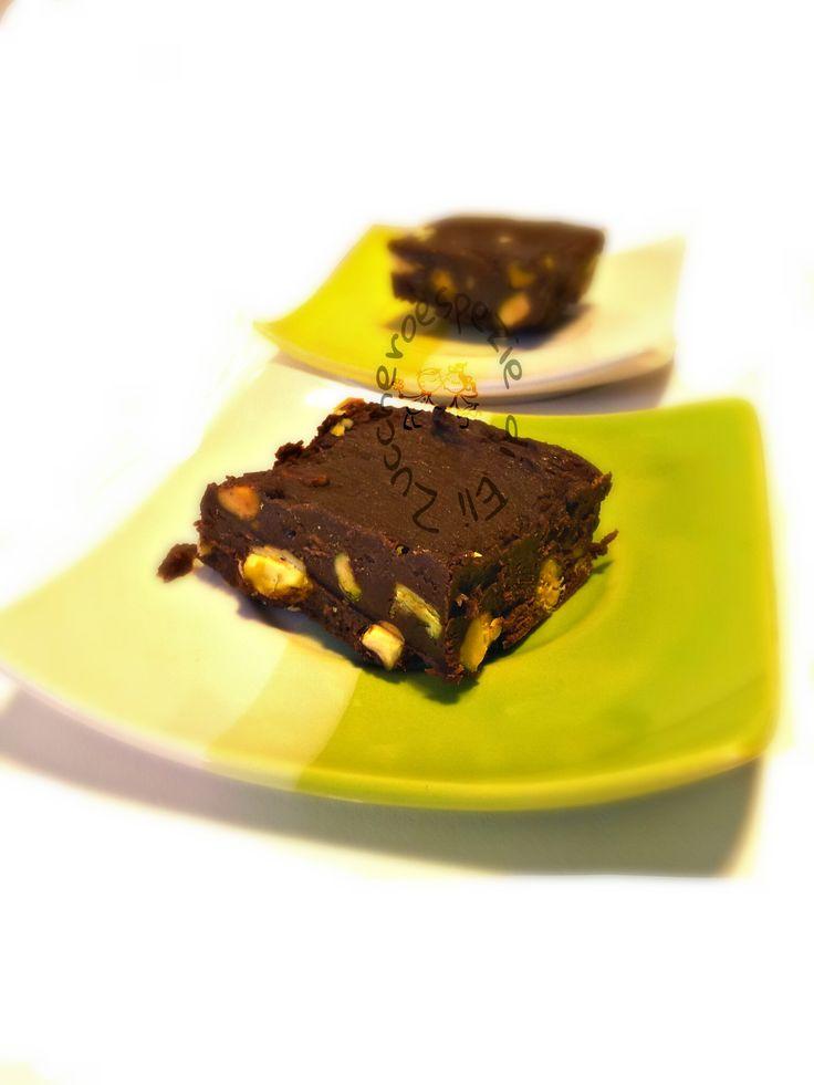 Torroncini di cioccolato e pistacchio