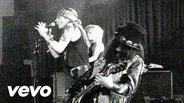 Guns N' Roses - Sweet Child O' Mine...This song reminds me of a guy I dated years ago...he used to sing it to me...