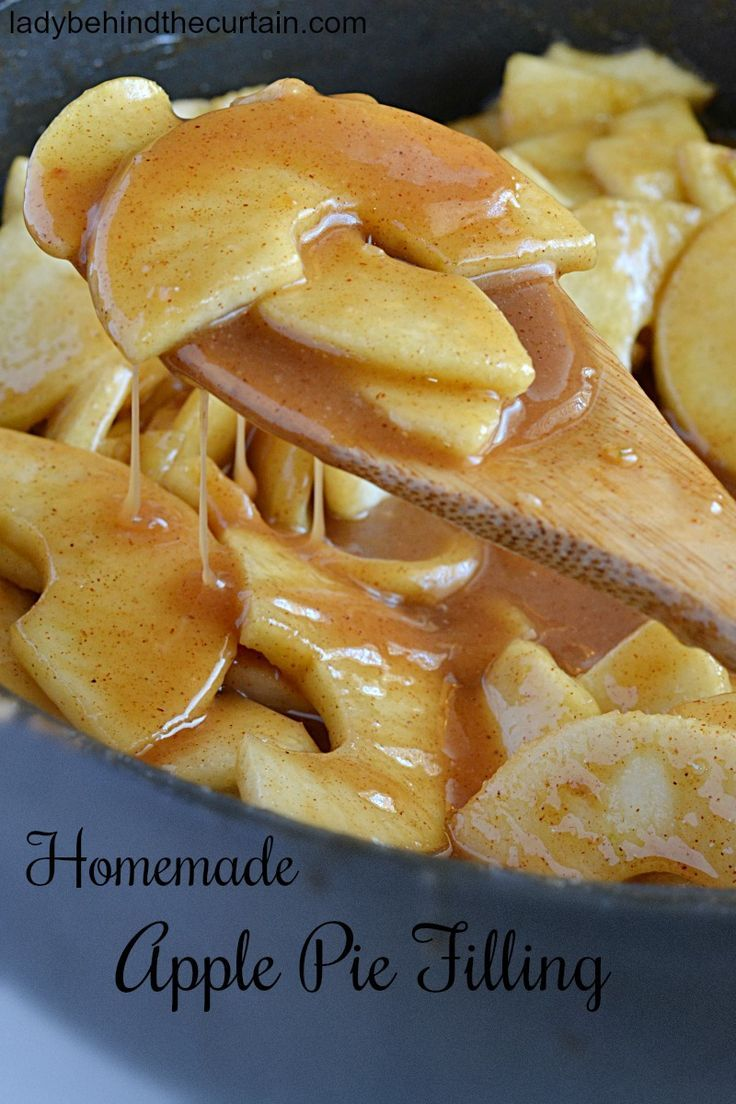 Homemade Apple Pie Filling   Best traditional USA dishes ...