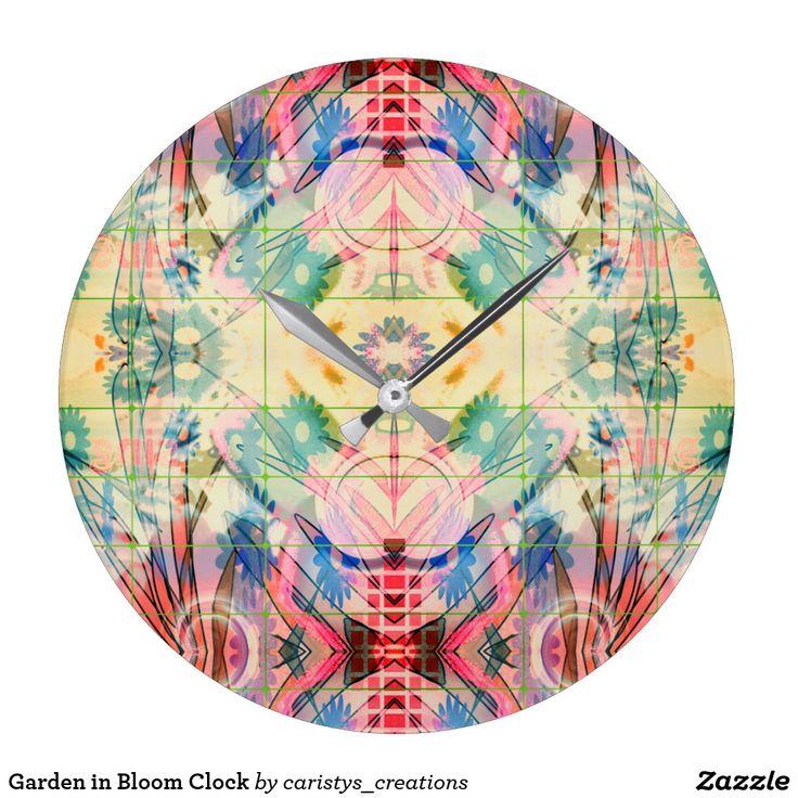 Garden in Bloom Clock