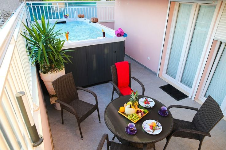 Rent the apartment Apartments Rose Pool- Comfort One Bedroom Apartment with Jacuzzi Pool and Par... in Dubrovnik, Croatia.