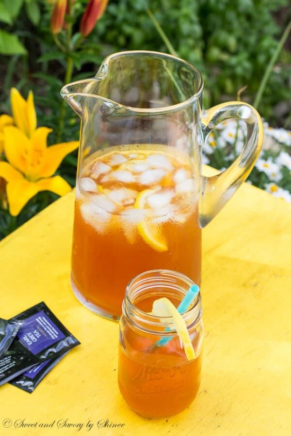 Introducing a new iced tea flavor: classic earl grey tea with lemon and honey. Bright, refreshing and citrusy!