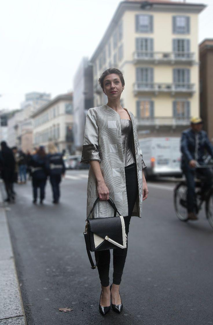 @milanops per Blumarine Model: @giuliazuffi7  Outfit: Bag @vincenzovalvo81 Collezione Privata Venezia