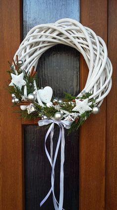 Pravá romantická zima II. ..vánoční věnec na dveře / Zboží prodejce Envioshop | Fler.cz