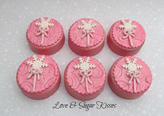 Fondant topped chocolate covered Oreos by lovesugarkisses on Etsy, $30.00