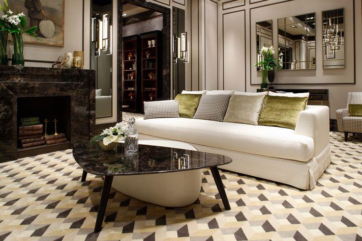 Living room at Salone internazionale del Mobile Milano