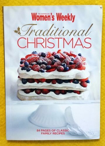 Women-039-s-Weekly-Traditional-Christmas-Mini-Cook-Book-FREE-AUS-POST-good-used-cond