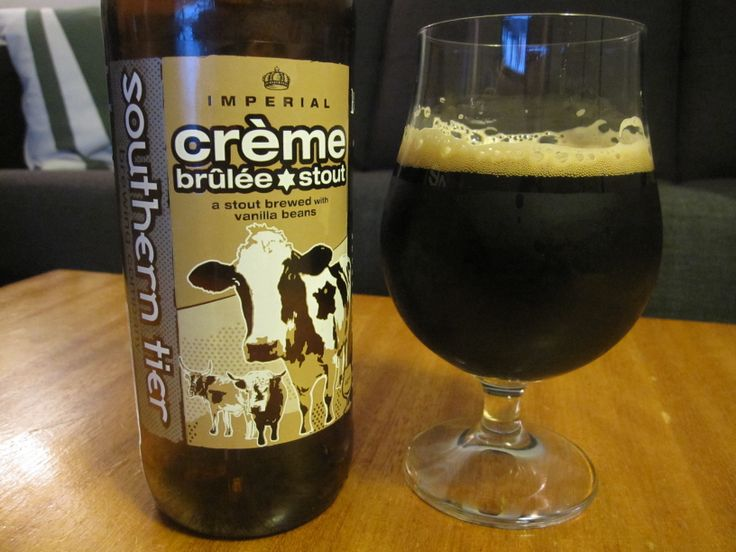 Creme Brulee (Imperial Milk Stout)  Southern Tier Brewing Company American Double / Imperial Stout 9.60 (5)