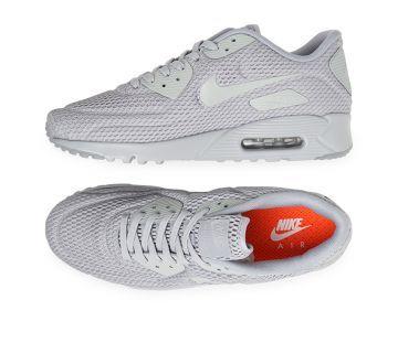 Mens Air Max 90 Ultra Breeze Grey/White