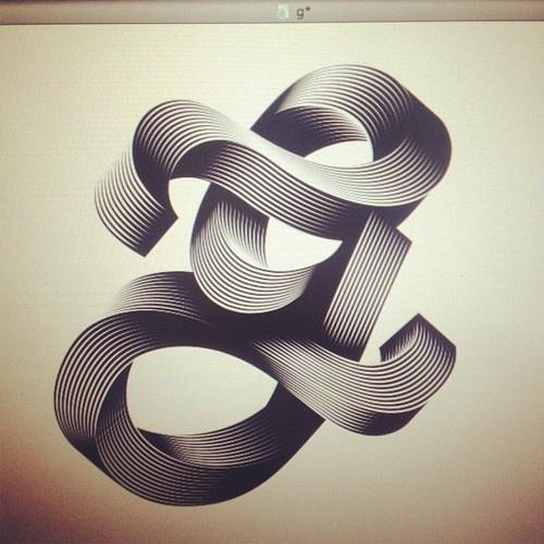 Typeverything.com  g. For the Simpl3 Tigografica exhibition by Alex Trochut.Graphic Design, Alextrochut, Graphics Design, Design Prints, Simpl3 Tigografica, Typography, Types, Alex Trochut, Alex O'Loughlin