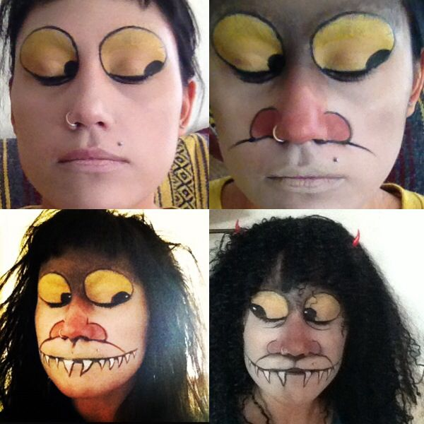 Where The Wild Things Are - facepaint                                                                                                                                                     More                                                                                                                                                                                 More