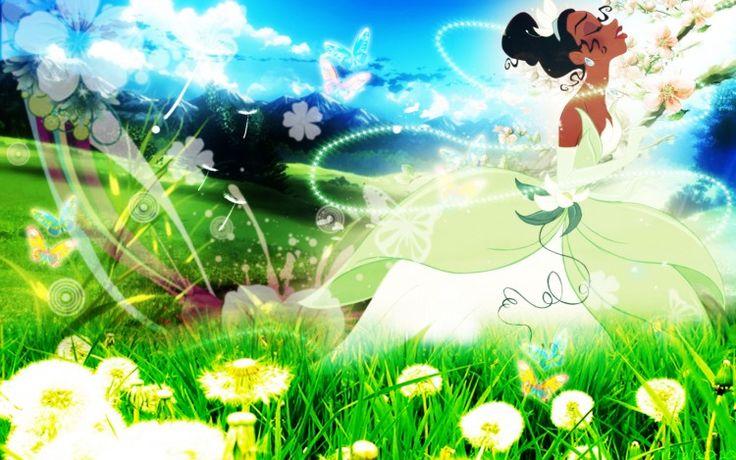 Fonds d'écran Dessins Animés La Princesse et la Grenouille ¤ Tiana ¤