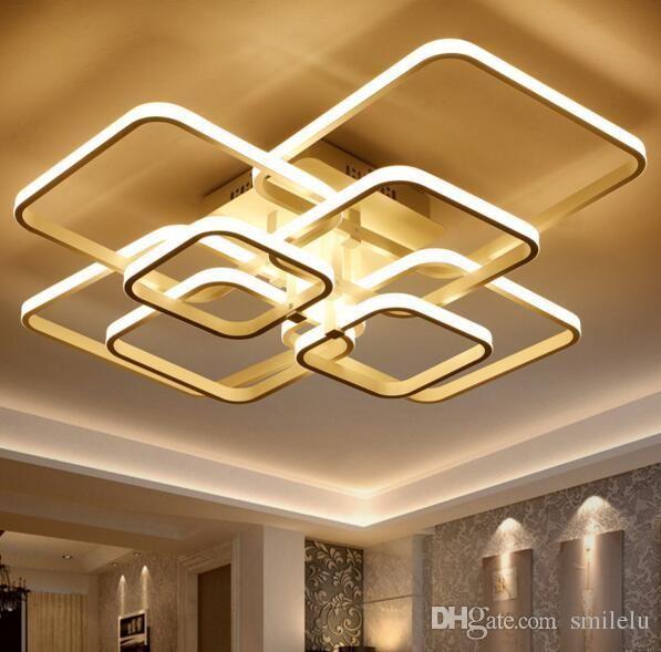 Acheter Le Lustre Moderne De Plafond De LED Allume La Lampe