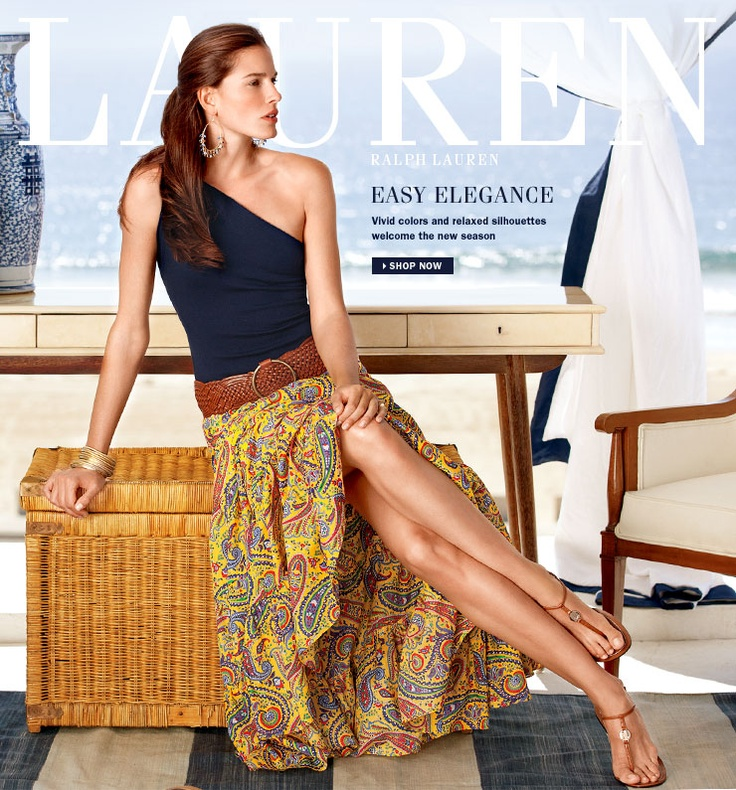 Ralph Lauren 'Lauren': Style Someday, Fashion Outfit, Casual Style, Fashion Ideas, Style Inspiration, Vacations Outfit, Classic Ralph, Lauren Style, Maxi Skirts