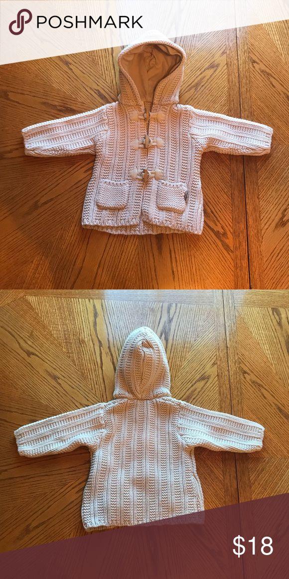 La Petite Ourse Baby Sweater Size 6 months La Petite Ourse baby sweater. The color is beige. Size 6 months. No stains or holes. La Petite Ourse Shirts & Tops Sweaters