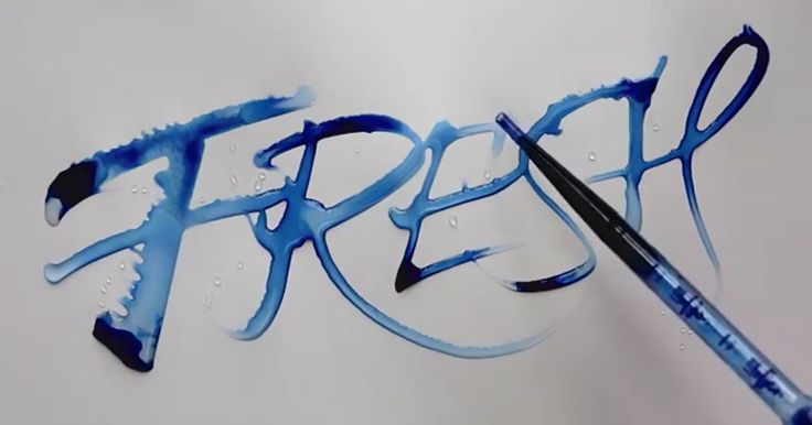 Oddly Satisfying Calligraphy By Seb Lester | Bored Panda